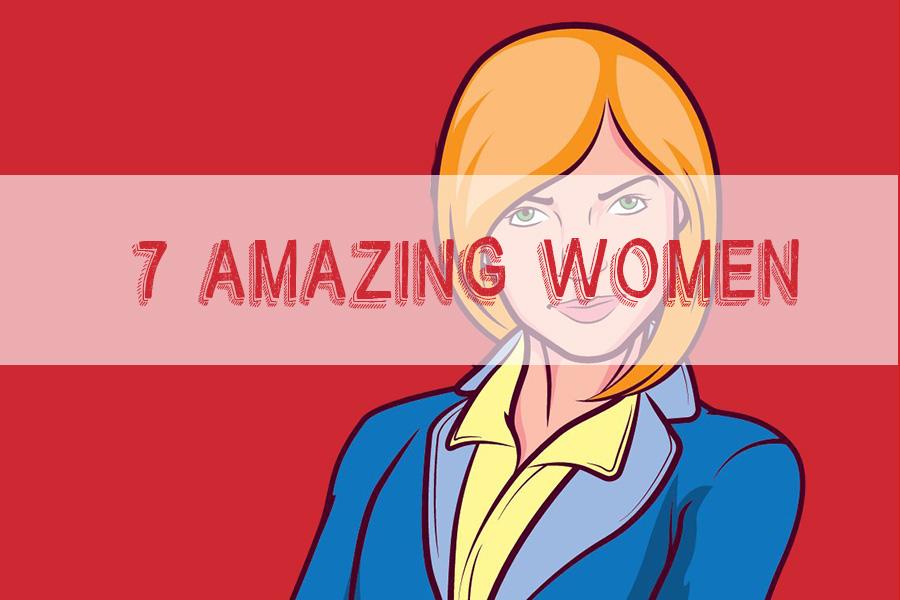 New TPT product: 7 amazing women