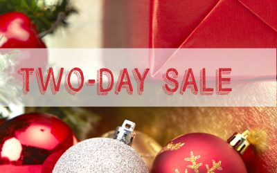 2-days only Cyber Sale!